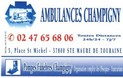 AMBULANCES CHAMPIGNY